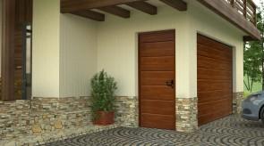 Drzwi przygarażowe One Line