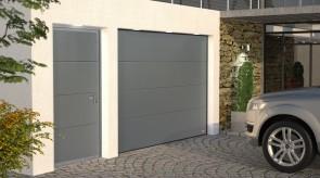 Brama garażowa Topline z drzwiami
