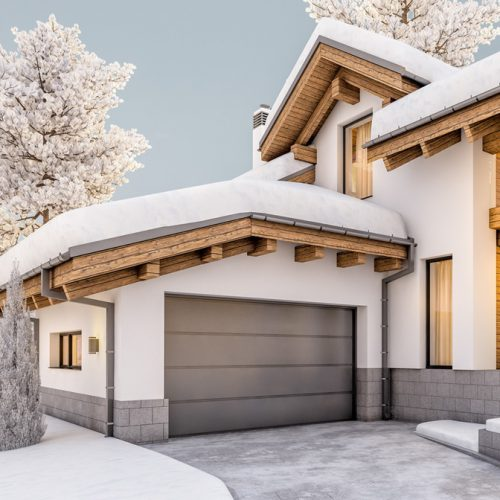 Brama garażowa energooszczędna Termoline