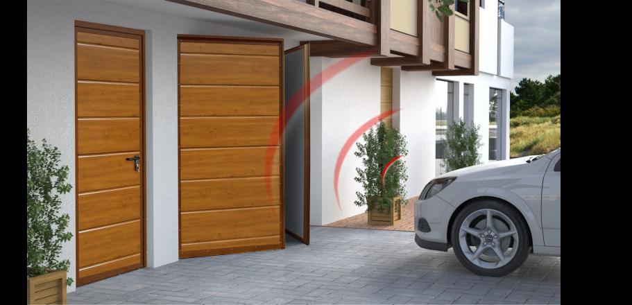 Bramy garażowe dwuskrzydłowe 2