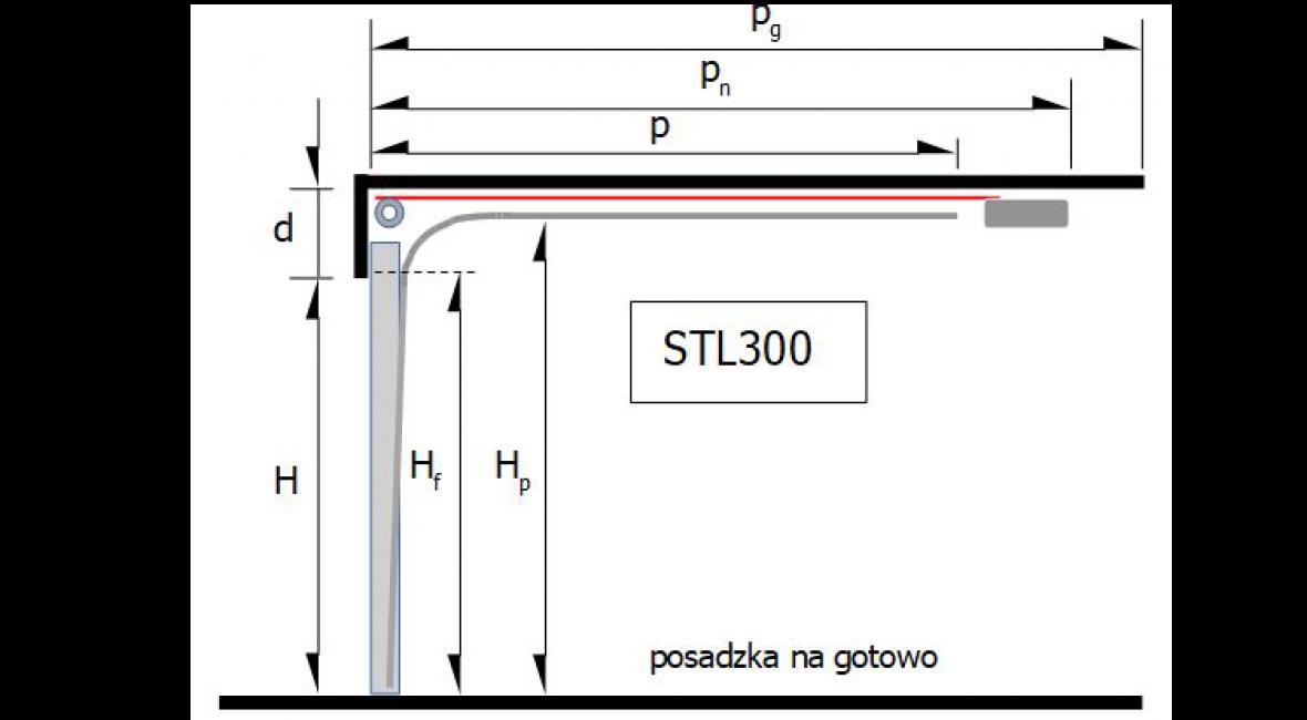 Prowadzenie STL 300 – sprężyny skrętne z przodu