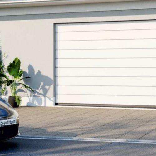 Brama garażowa segmentowa - zdjęcie z Gdyni