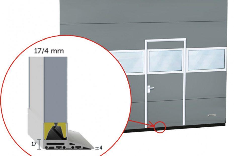 Najniższy próg aluminiowy na rynku - tylko 17 MM!!