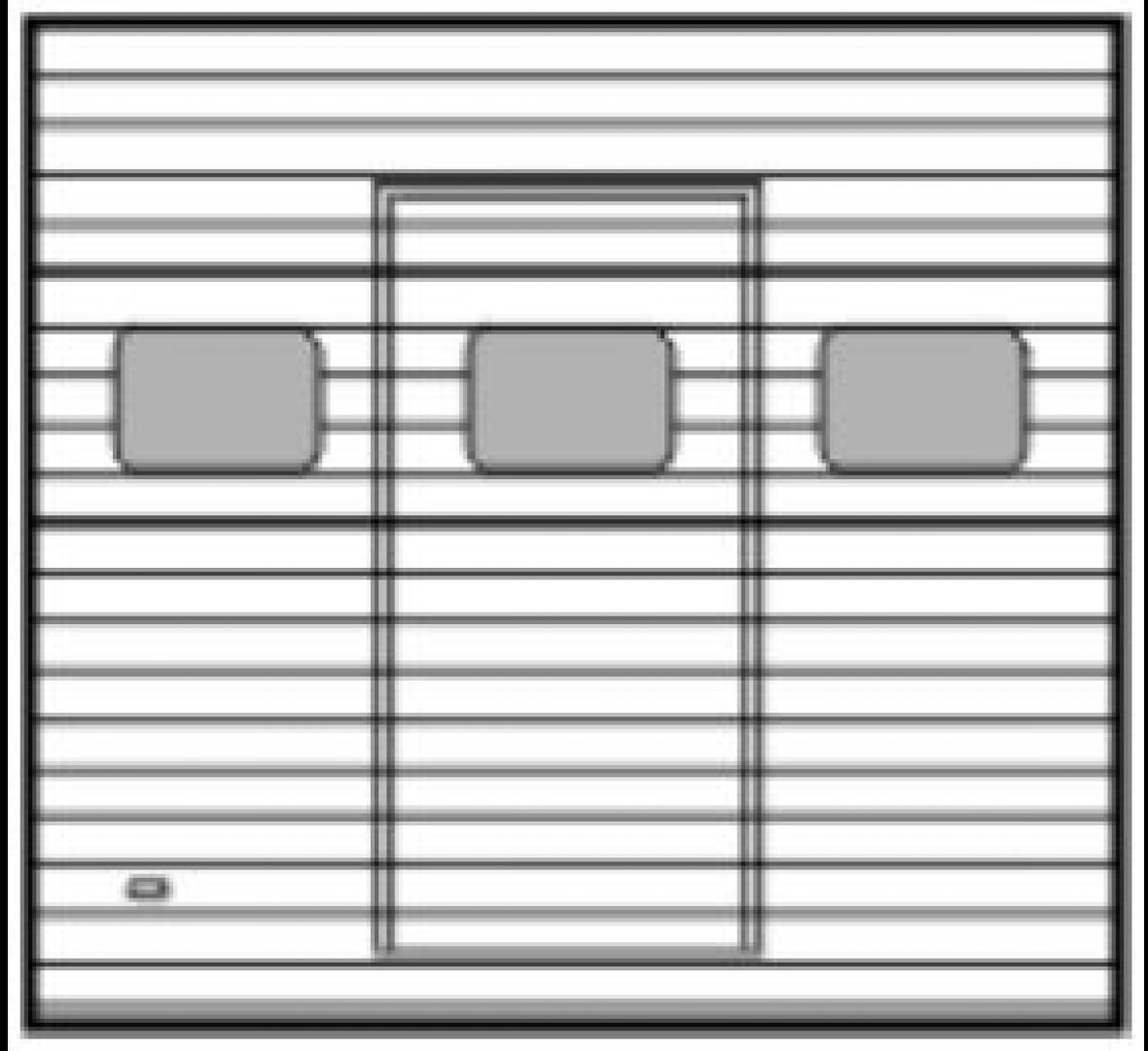 ST40 z oknami i furtką serwisową