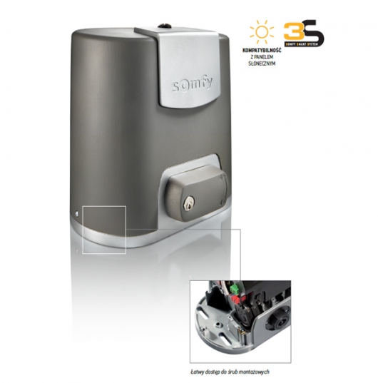 Somfy - Elixo 500 3S RTS