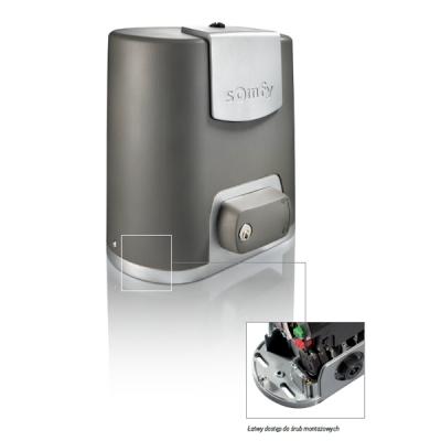 Somfy - automatyka do bram wjazdowych
